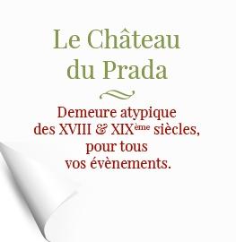 chteau de prada - Traiteur Landes Mariage